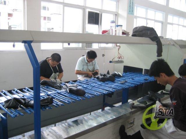 Обувная фабрика в Китае